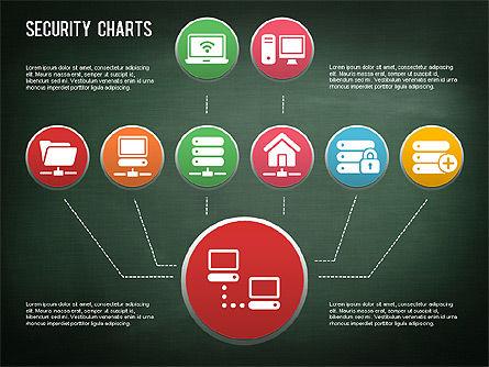 Online Security Chart, Slide 10, 01387, Process Diagrams — PoweredTemplate.com