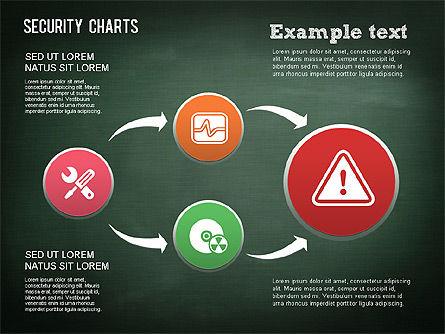 Online Security Chart, Slide 11, 01387, Process Diagrams — PoweredTemplate.com