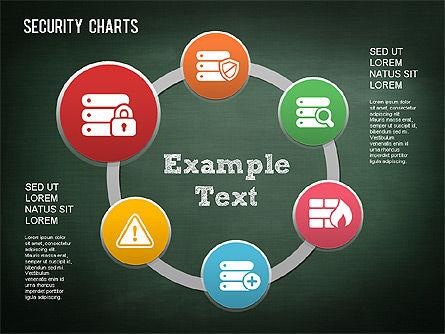 Online Security Chart, Slide 12, 01387, Process Diagrams — PoweredTemplate.com