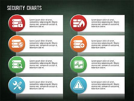 Online Security Chart, Slide 14, 01387, Process Diagrams — PoweredTemplate.com
