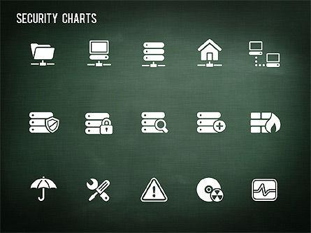 Online Security Chart, Slide 16, 01387, Process Diagrams — PoweredTemplate.com