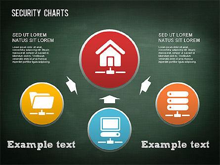 Online Security Chart, Slide 2, 01387, Process Diagrams — PoweredTemplate.com
