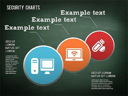 Online Security Chart, Slide 4, 01387, Process Diagrams — PoweredTemplate.com