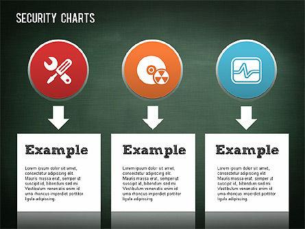 Online Security Chart, Slide 5, 01387, Process Diagrams — PoweredTemplate.com