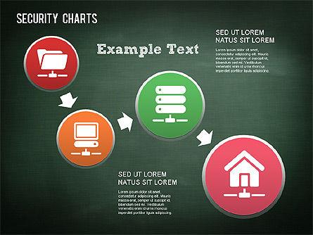 Online Security Chart, Slide 6, 01387, Process Diagrams — PoweredTemplate.com