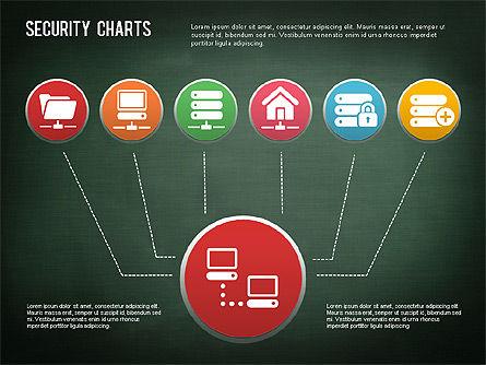 Online Security Chart, Slide 7, 01387, Process Diagrams — PoweredTemplate.com