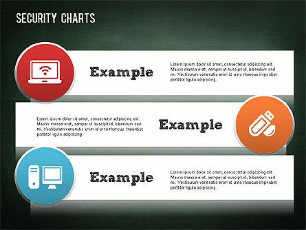 Online Security Chart, Slide 8, 01387, Process Diagrams — PoweredTemplate.com