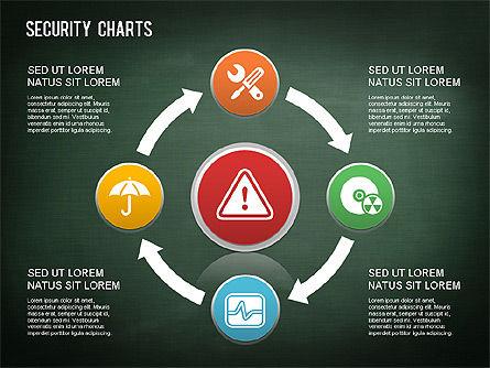 Online Security Chart, Slide 9, 01387, Process Diagrams — PoweredTemplate.com