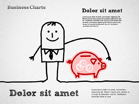 Business Illustrations, Slide 6, 01388, Business Models — PoweredTemplate.com