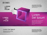Stage Diagrams: 3D Stufen Diagramm #01391