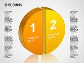 Pie Charts: 3D Pie Chart Toolbox #01394
