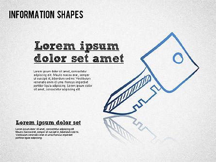 Colored Information Shapes Slide 2