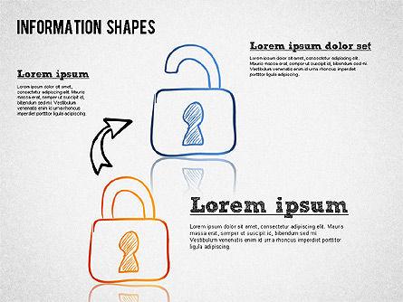 Colored Information Shapes Slide 3