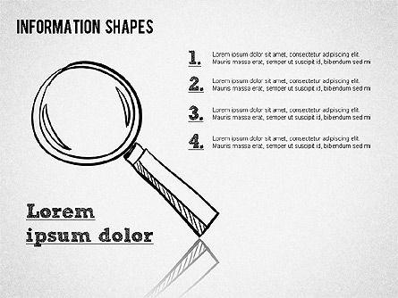 Colored Information Shapes Slide 4