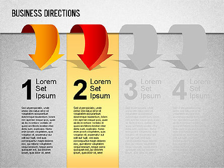 Business Directions Toolbox, Slide 5, 01401, Stage Diagrams — PoweredTemplate.com