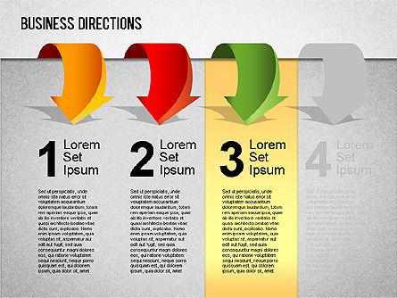 Business Directions Toolbox, Slide 6, 01401, Stage Diagrams — PoweredTemplate.com