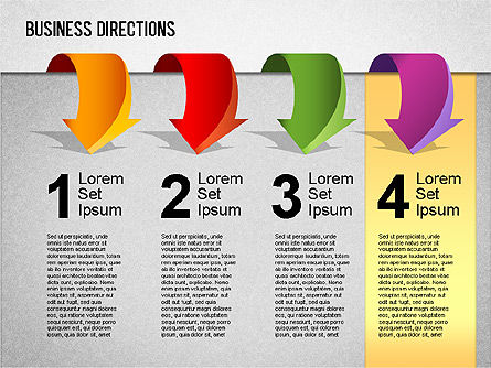 Business Directions Toolbox, Slide 7, 01401, Stage Diagrams — PoweredTemplate.com