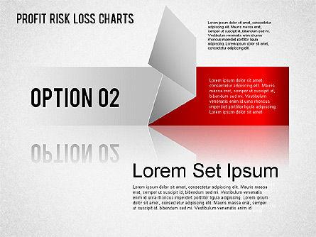Profit Risk Loss Chart, Slide 3, 01402, Business Models — PoweredTemplate.com