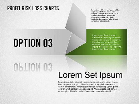 Profit Risk Loss Chart, Slide 4, 01402, Business Models — PoweredTemplate.com