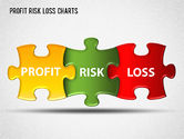 Business Models: Profit Risk Loss Chart #01402