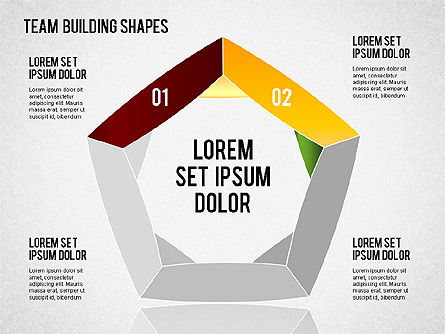 Team Building Shapes for PowerPoint Presentations, Download Now ...