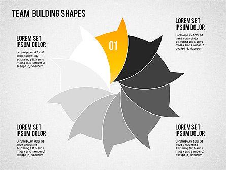 Team Building Shapes, Slide 2, 01403, Business Models — PoweredTemplate.com