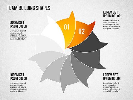 Team Building Shapes, Slide 3, 01403, Business Models — PoweredTemplate.com