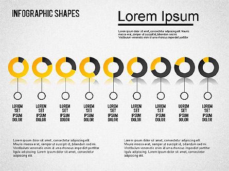 Infographics Shapes Set, Slide 10, 01404, Business Models — PoweredTemplate.com
