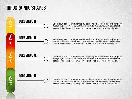 Infographics Shapes Set, Slide 11, 01404, Business Models — PoweredTemplate.com