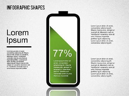 Infographics Shapes Set, Slide 12, 01404, Business Models — PoweredTemplate.com