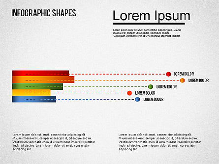 Infographics Shapes Set, Slide 13, 01404, Business Models — PoweredTemplate.com