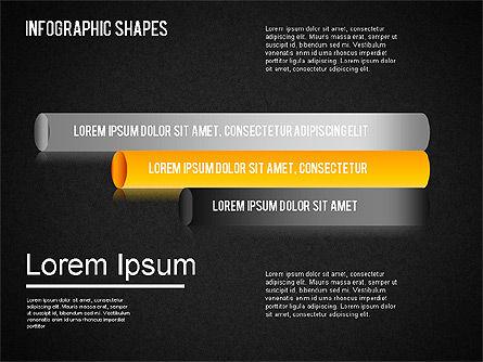 Infographics Shapes Set, Slide 15, 01404, Business Models — PoweredTemplate.com
