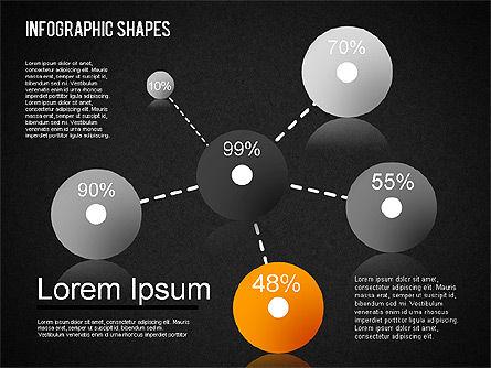 Infographics Shapes Set, Slide 16, 01404, Business Models — PoweredTemplate.com