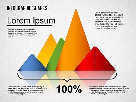 Infographics Shapes Set, Slide 5, 01404, Business Models — PoweredTemplate.com