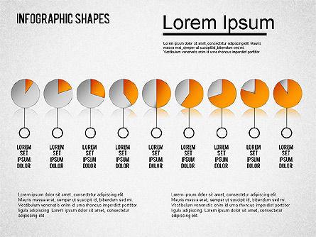 Infographics Shapes Set, Slide 6, 01404, Business Models — PoweredTemplate.com