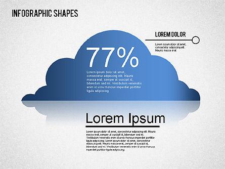 Infographics Shapes Set, Slide 8, 01404, Business Models — PoweredTemplate.com