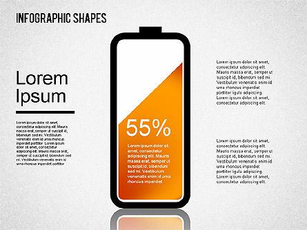 Infographics Shapes Set, Slide 9, 01404, Business Models — PoweredTemplate.com