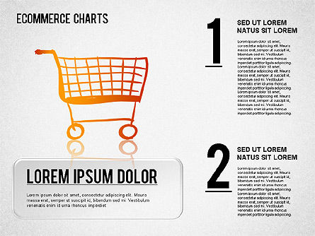 Ecommerce Diagram, 01410, Business Models — PoweredTemplate.com