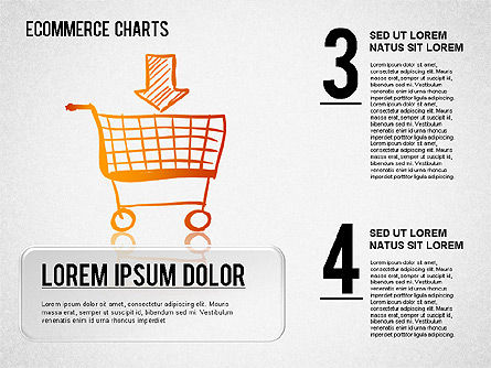 Ecommerce Diagram, Slide 2, 01410, Business Models — PoweredTemplate.com
