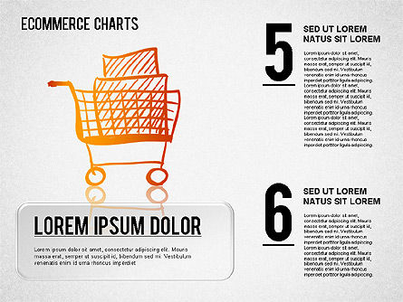 Ecommerce Diagram, Slide 3, 01410, Business Models — PoweredTemplate.com