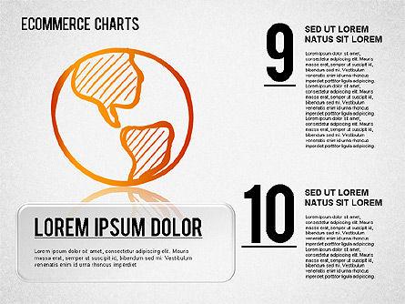 Ecommerce Diagram, Slide 5, 01410, Business Models — PoweredTemplate.com