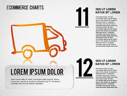 Ecommerce Diagram, Slide 6, 01410, Business Models — PoweredTemplate.com