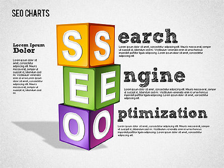 Search Engine Optimization Puzzle Diagram, Slide 3, 01412, Presentation Templates — PoweredTemplate.com