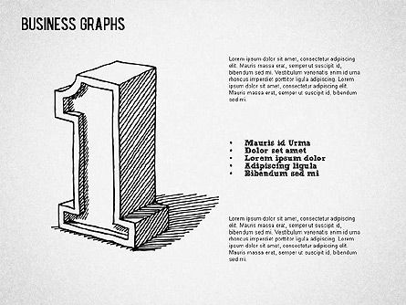 Sketch Style Business Shapes, Slide 4, 01414, Shapes — PoweredTemplate.com