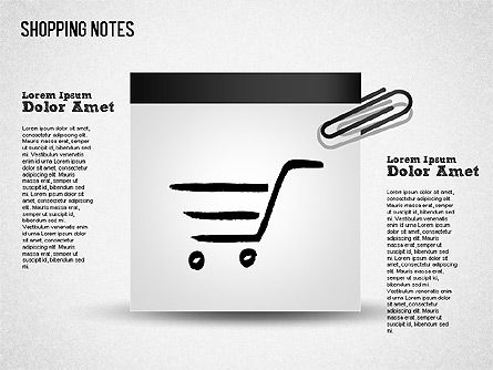 Shapes: Shopping Notes #01417
