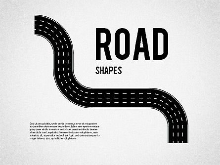Shapes: Road Shapes #01419