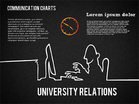 Communication Chart, Slide 10, 01420, Business Models — PoweredTemplate.com