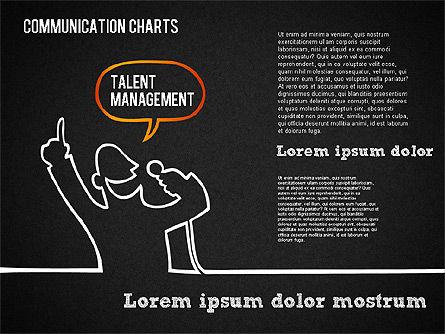 Communication Chart, Slide 11, 01420, Business Models — PoweredTemplate.com
