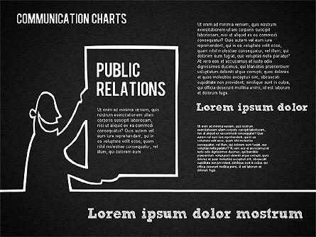 Communication Chart, Slide 13, 01420, Business Models — PoweredTemplate.com