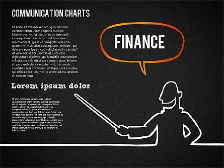 Communication Chart, Slide 16, 01420, Business Models — PoweredTemplate.com